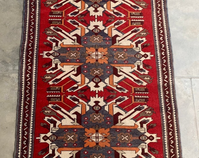 COLLECTOR'S - vintage Hand knotted Area rug / Turkish Anatolian Home decor rug Good Quality Authentic Traditional rug