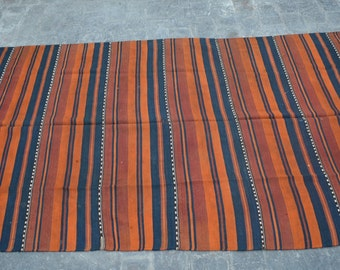 Vintage Spectacular handwoven tribal Uzbeki Shawl nomadic kilim / Traditional kuchi kilim/ decorative Turkish Gypsy kilim
