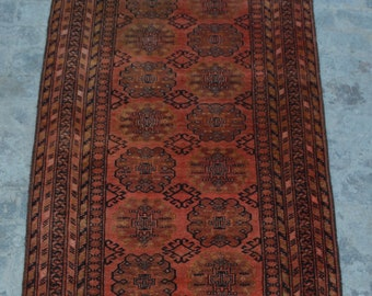 FREE SHIPPING 3.8 x 7.0 ft Afghan Vintage Tribal rug runner /Home decor Rug this rug will make your house even more Beautiful and colorful
