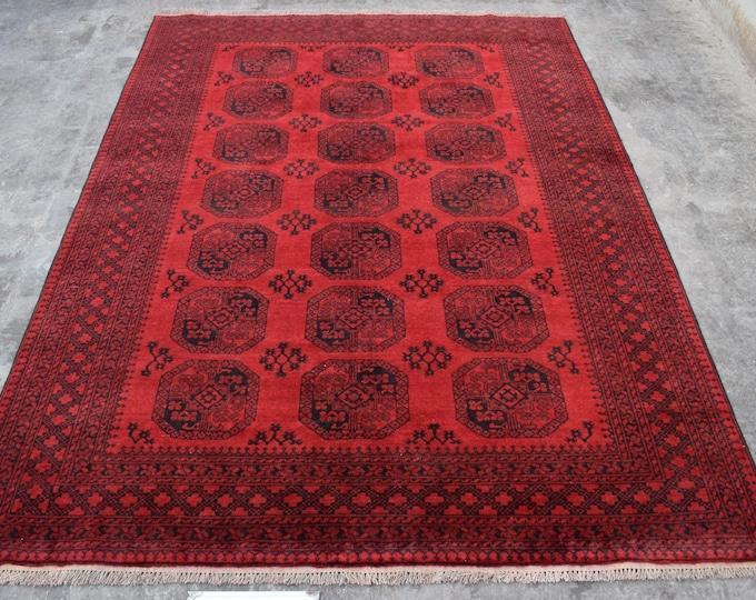 Vintage Afghan rug, Sulaymani rug, Tribal large rug, Nomad vintage rug, Filpai rug,