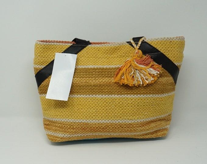 Stunning handmade kilim  handbag/ Bohemian style Boho handbag kilim handbag
