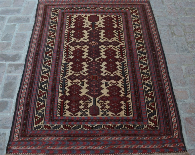 Traditional Afghan handmade Kilim Rug
