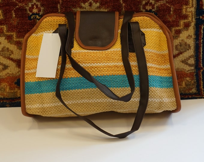 Beautiful handmade hobo kilim bag / bohemian kilim bag - decorative kilim bag