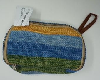 Stunning handmade kilim cosmetic bag / Turkish hand bag