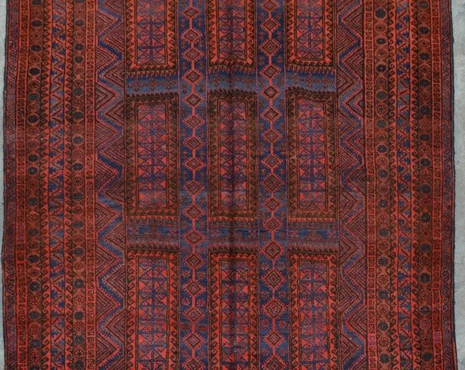 Elegant Afghan Decorative vintage yaqoob khani rug