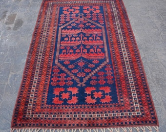 Semi Antique  Design Tribal turkish  carpet/ Decorative rug turk traditional rug / stunning bohemian decor rug / Anatoliyan rug