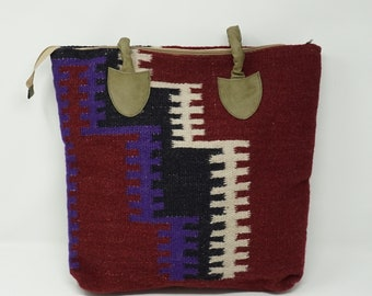 Vintage Handmade kilim handbag/ tote bag / shoulder bag / Coin wallet