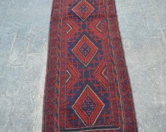 NOMAD'S Afghan handmade Mushwani rug runner / Decorative Reasonable handmade rug hallway Home decor Carpet runner tribal runner