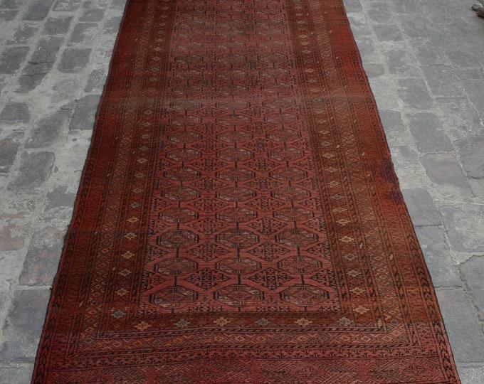 Vintage Afghan tribal hand knotted rug decorative rug / Stunning Afghan turkoman sarooki rug / tribal nomadic kuchi rug - turkish rug