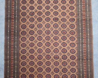 9'5 x 13'0 ft. Fine Large Afghan Turkmen Handmade Rug, FREE SHIPPING