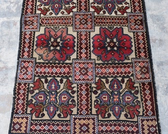 2'10 x 4'0 Afghan tribal berjesta kilim rug / free shipping