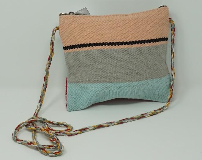 Stunning handmade kilim crossbody bag/ Bohemian style Boho handbag kilim handbag
