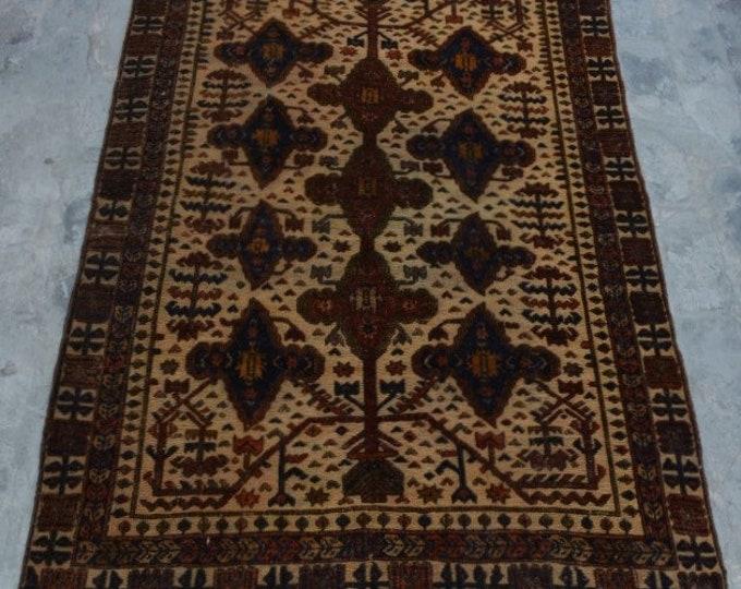 Vintage , Afghan Rug, Tribal Vintage rug, Burjesta rug , Turkish rug,