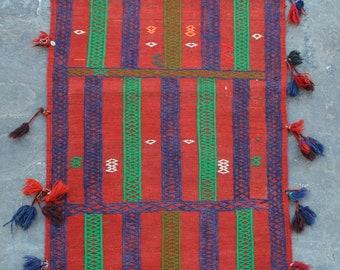 Elegant Afghan SofrehTribal kilim