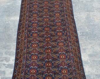 Elegant Vintage Afghan turkoman tribal  handmade wool rug / Decorative rug vintage afghan traditional rug/ Bohemian decor rug