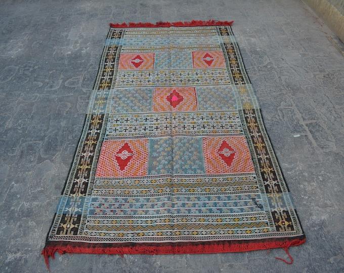 Vintage Super good quality Turkish suzani kilim 100% wool