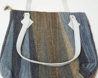 Stunning Vintage Kilim Handbag / shoulder bag kilim bag/ Hobo bag, tote bag , Christmas gift/ gypsy handbag FREE SHIPPING