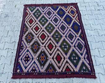 Turkish kilim, Anatolian kilim, cicim kilim, Embroidery kilim,