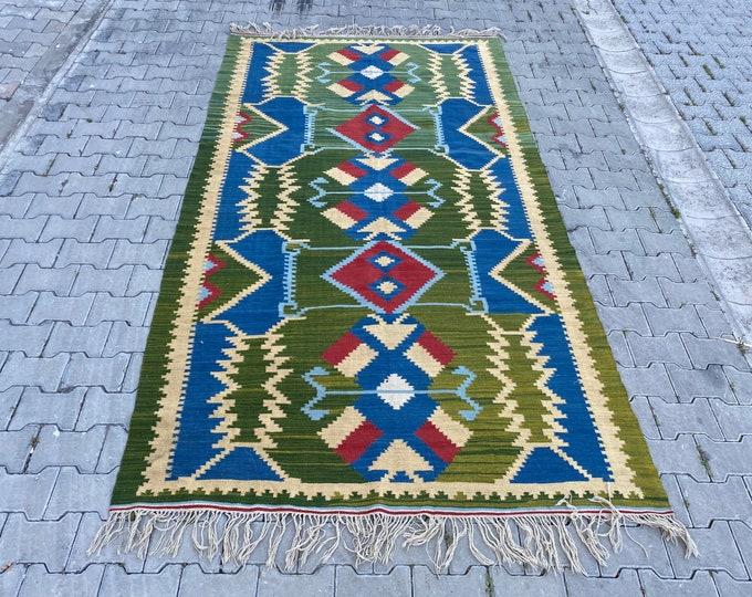 Turkish kilim, Anatolian kilim, home decor, area rug,