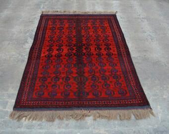 Beautiful hand knotted New Maldari baluchi rug 100% wool
