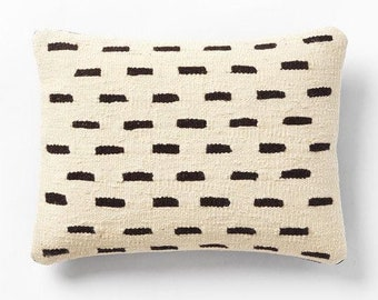 Free Shipping Handwoven Kilim pillow 16 x 16 decorative pillow