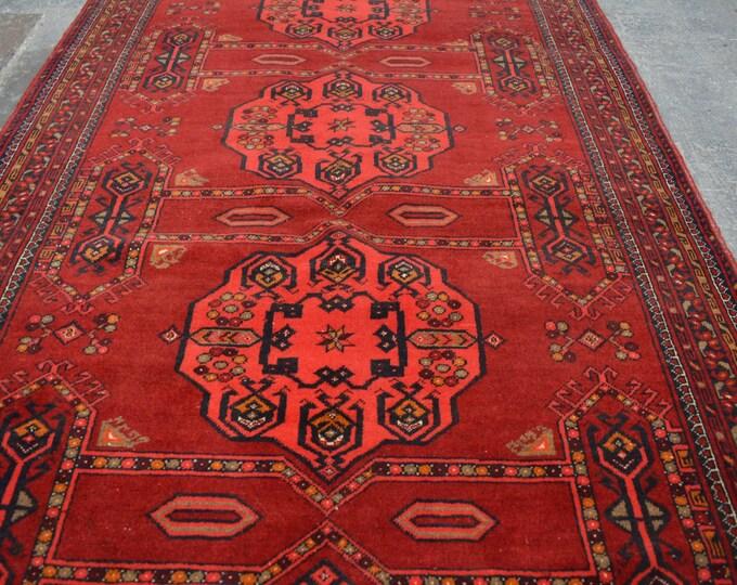 Elegant Vintage Afghan nomad Qunduzi tribal handmade wool rug /Decorative rug vintage afghan traditional rug Nomadic decorative rug