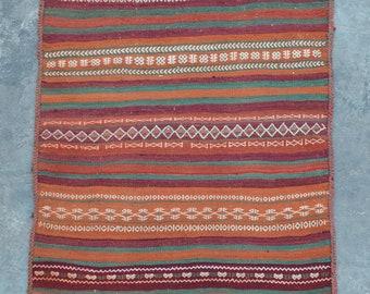 Elegant vintage Tribal Baluch kilim runner