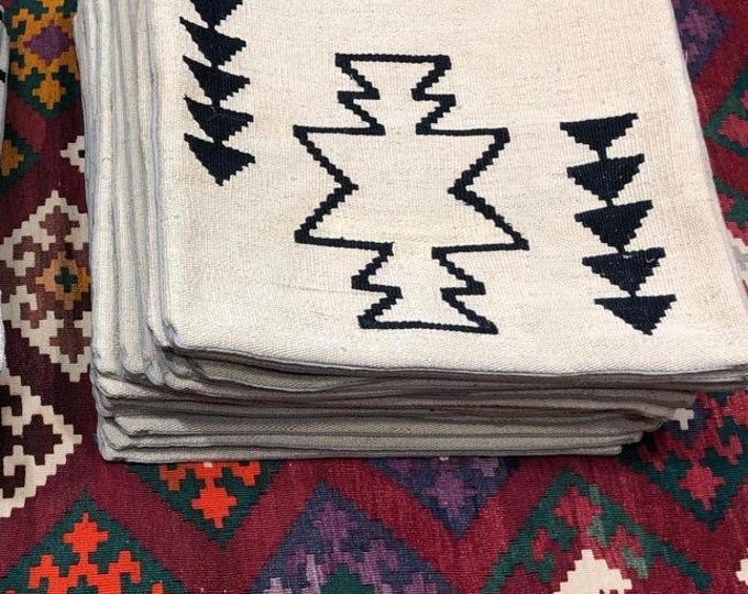 Free Shipping Handwoven Kilim pillow 16 x 16 decorative pillow Moroccan style