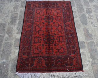 Good quality Afghan turkoman tribal Khalmohammadi handmade wool rug / Decorative rug vintage afghan traditional rug