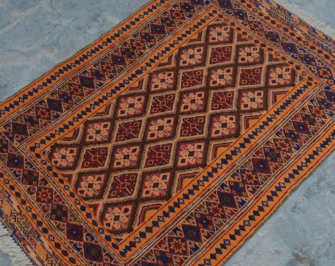 High Quality handmade Mishwani Nakhunak Herati Woolen rug / Cute Afghan Beljick Mushwani kilim rug