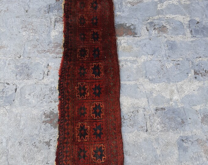 1'0 x 5'0 ft. Vintage Afghan Traditional jalar wall decor kilim, Wall hanging kilim decor, FREE SHIPPING