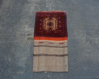 Cute handmade Afghan traditional Balisht rug - 1'8 x 3'2 ft.