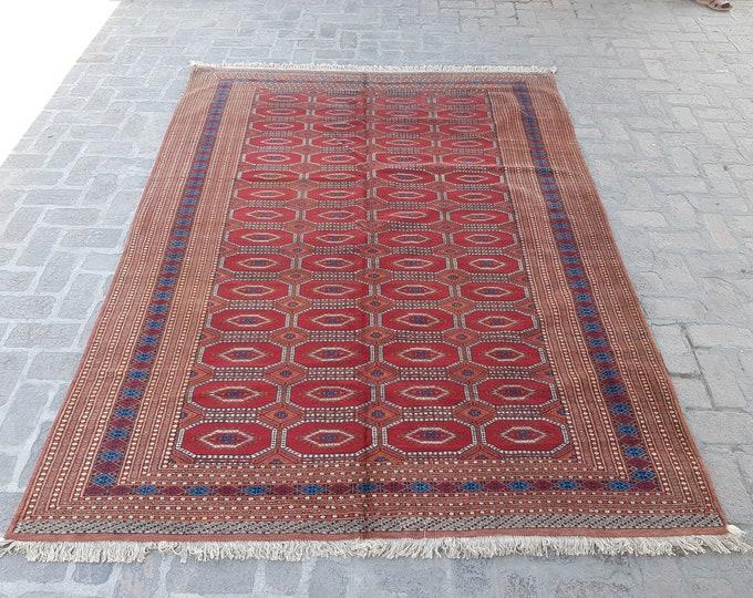 Elegant Handmade Afghan Sarouk Tribal rug, Bedroom rug, Decor rug, Living room rug, Dining room rug, Free shipping