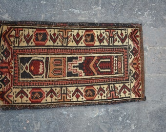 Turkoman Natural Dye Soft Woolen Afghan tribal floor Balisht Cushion Case Big Pillew Decor Piece