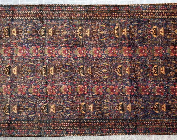 289 x 476 Over size Rug, Antique Handmade Afghan rug / 10x15 Large area rug / Bedroom rug, Dining room rug, Living room rug, Free Shipping