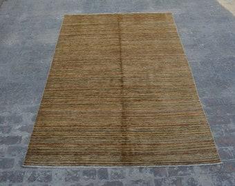 Hand knotted Afghan tribal gabbeh rug / decorative rug vintage afghan rug/ contemporary rug
