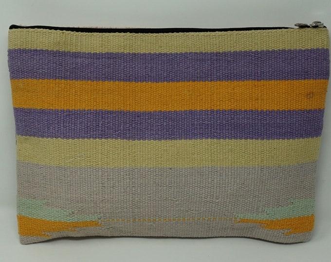 Handmade wallet kilim bag / tribal handbag