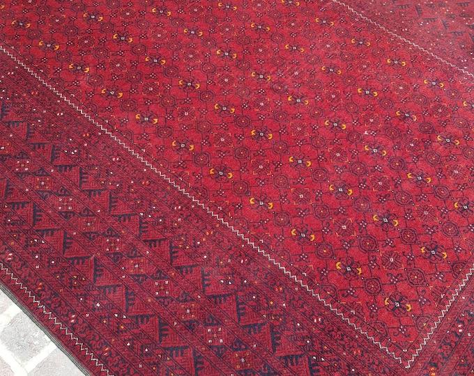 Afghan Fine Quality handmade Qunduzi rug 200x280 cm - Living room rug , Bedroom rug, Free shipping