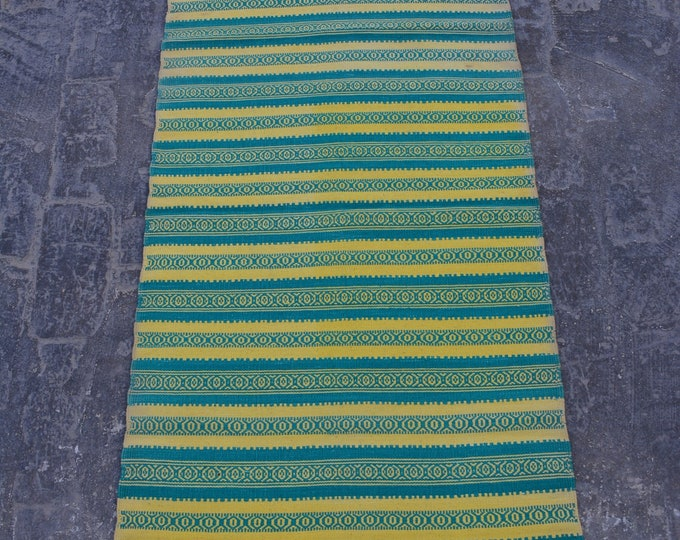 Afghan vintage Handwoven kilim / Tribal maldari Decorative kilim