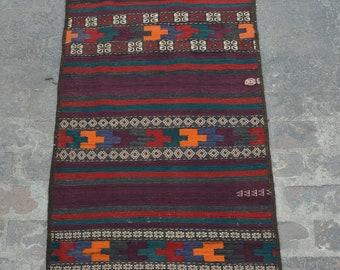Stunning handwoven Afghan tribal baluchi Maldari kilim runner / Nomadic kilim decorative Afghan  kilim runner Vintage afghan kuchi kilim