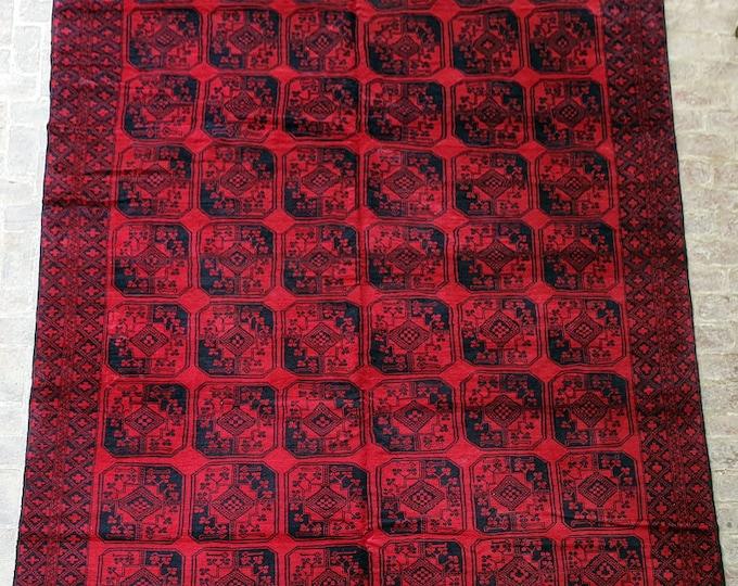 275 x 375 Over size Rug, Vintage Handmade Afghan rug / 9x12 Large area rug / Bedroom rug, Dining room rug, Living room rug, Free Shipping