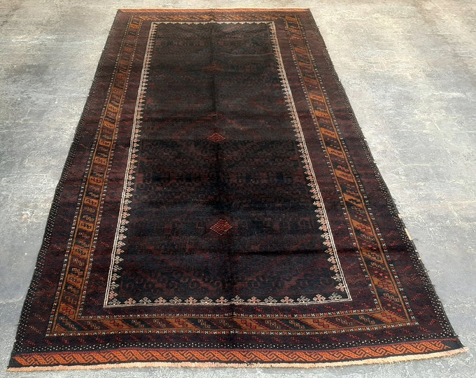CLEARANCE SALE 70% OFF - Bohemian Vintage Afghan hand knotted Area Rug