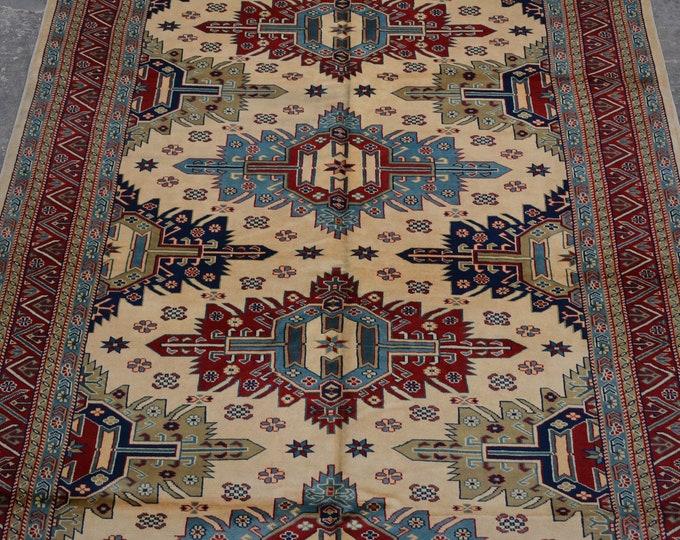 High qaulity Elegant Afghan Handmade shirvan Rug - natural dye Afghan rug / handspun Belgium wool