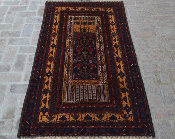 Afghan Tribal Vintage Rug