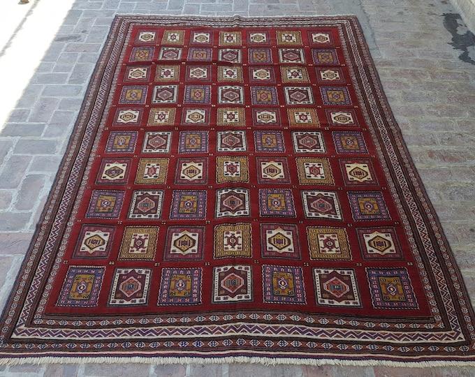 Fine Quality handmade Mishwani kilim rug, 100% Maranos Wool, Free Shipping, Bedroom rug, Drawing room rug, Living room rug, Turkish rug