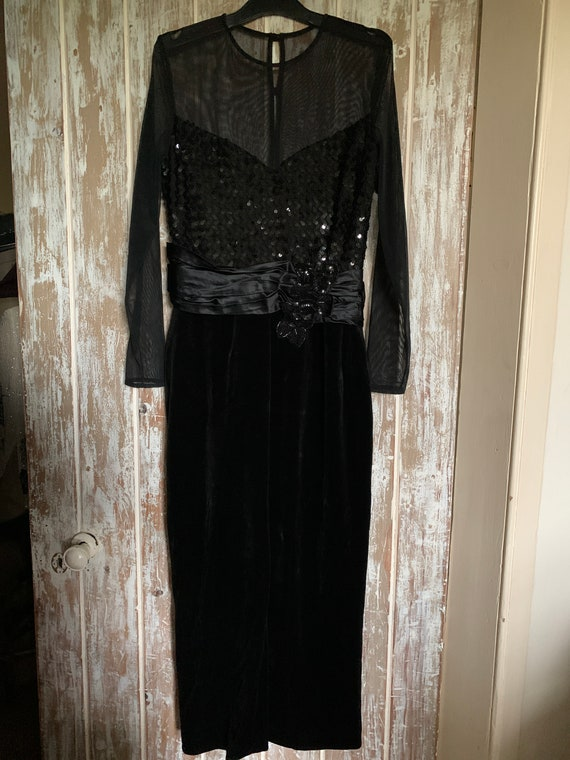 Vintage Frank Usher Evening Dress