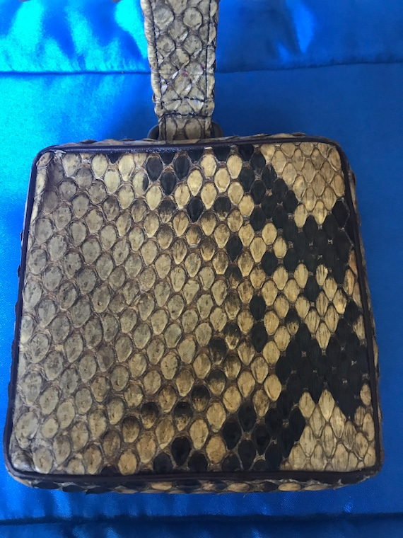 Antique Snakeskin Purse, Handbag