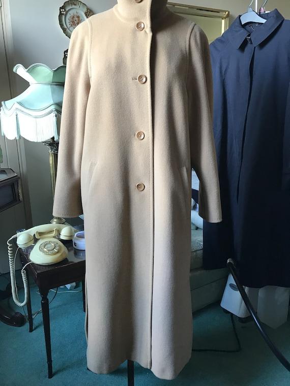 Vintage Basler Camel Coat
