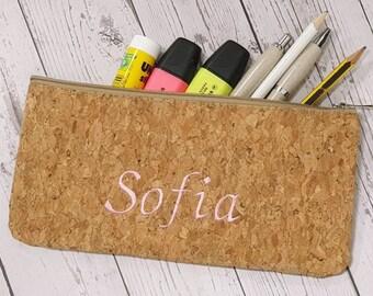 Personalized first name kit, School cork kit, Customizable kit