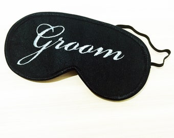 Gift for Groom Sleep Mask Eye Masks for Sleeping Wedding Gift for Couples Night Mask Eye Sleep Mask Eye Cover Groomsmen Gift